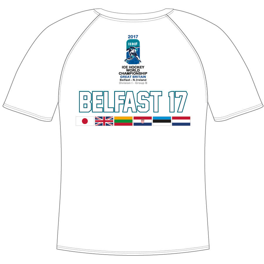 be0e9b003 IIHF Worlds Youth White Tee